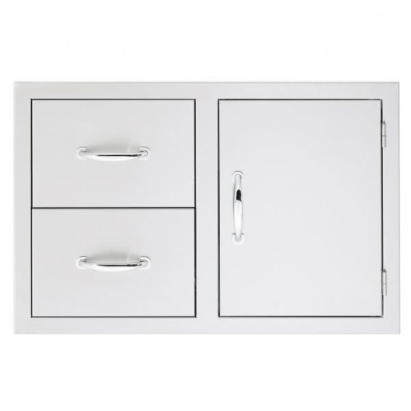Summerset Masonry Double Drawer and Door Combo image number 0