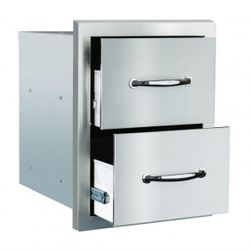 Summerset Masonry Double Drawer