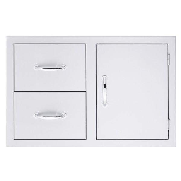Summerset Double Drawer and Door Combo image number 0