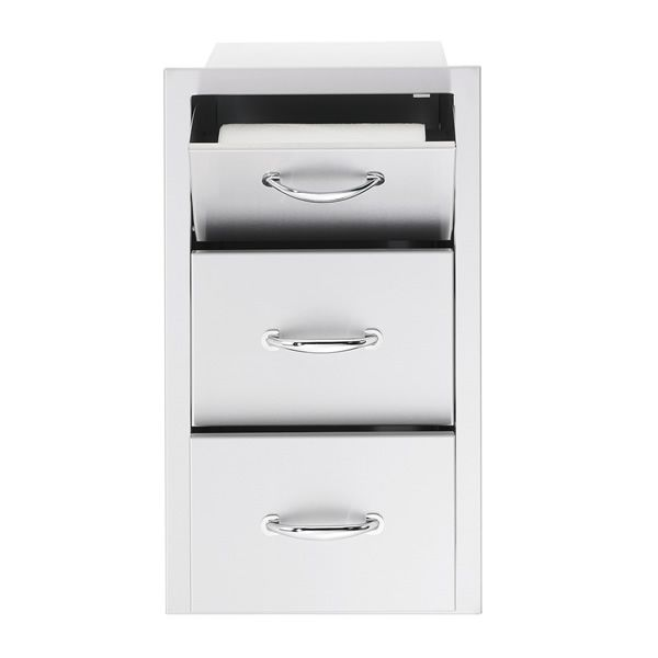 Summerset Double Drawer and Paper Towel Dispenser image number 0