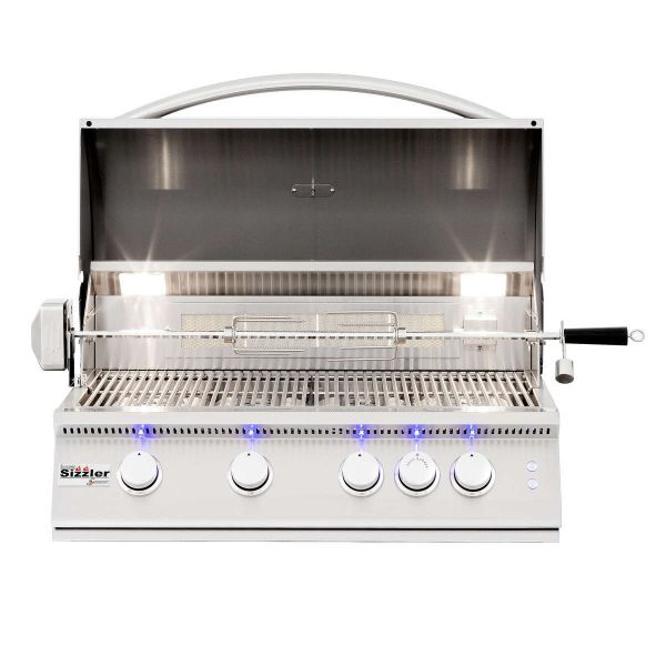 """Summerset Sizzler Pro Built-In Gas Grill - 32"""" image number 1"""
