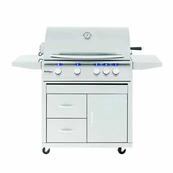 """Summerset Sizzler Pro Cart Mount Grill - 32"""" image number 0"""