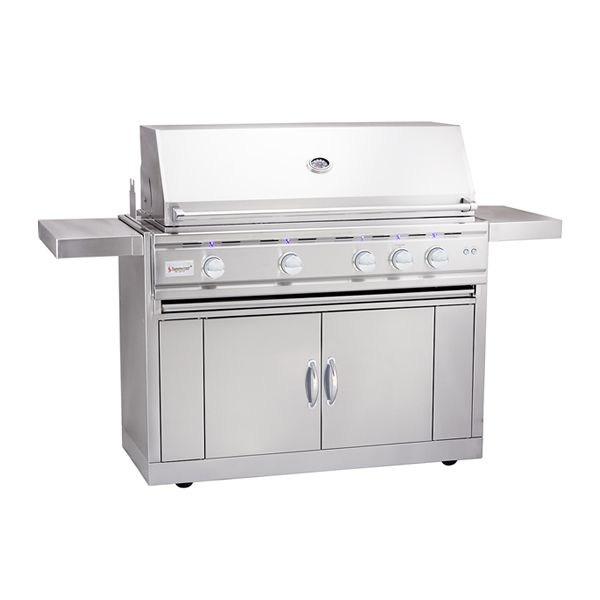 "Summerset TRLD Grill & Deluxe Cart - 44"" image number 0"