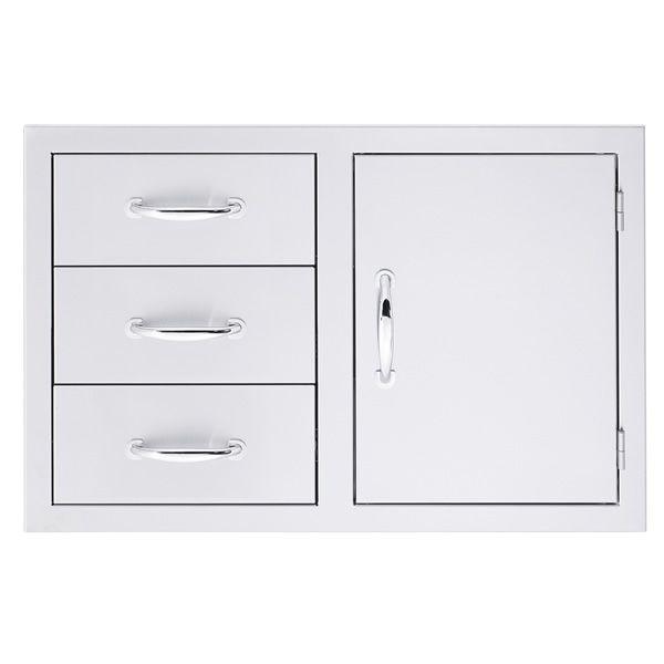 Summerset Triple Drawer and Door Combo image number 0