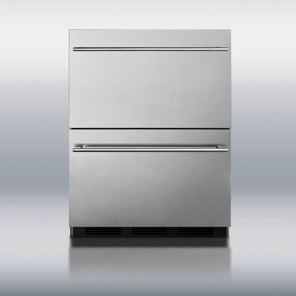 Summit SP6DS2DOS Double Drawer Refrigerator image number 1