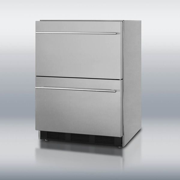 Summit SP6DS2DOS Double Drawer Refrigerator image number 0