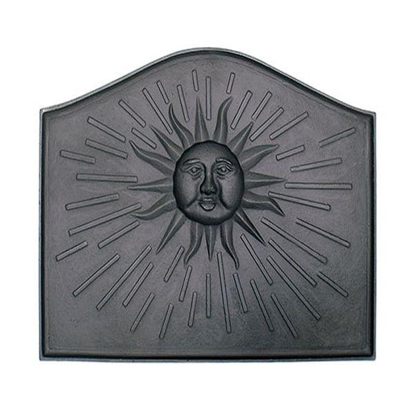 Sun Cast Iron Fireback image number 0