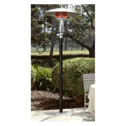 Sunglo Natural Gas Permanent Patio Heater - Black