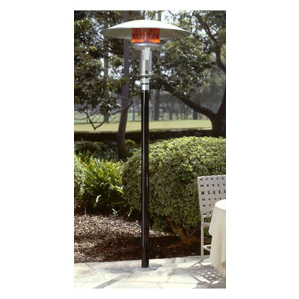 Sunglo Natural Gas Permanent Patio Heater - Black image number 0