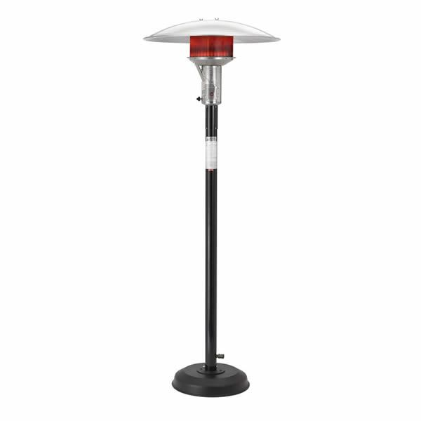 Sunglo Natural Gas Portable Patio Heater - Black image number 0