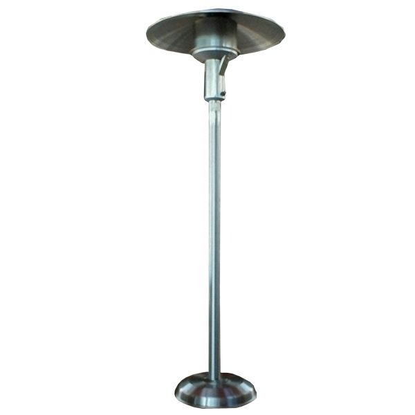 Sunglo Natural Gas Portable Patio Heater - Stainless Steel image number 0