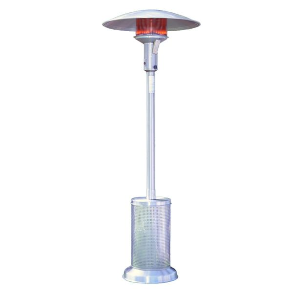 Sunglo Propane Patio Heater - Stainless Steel image number 0
