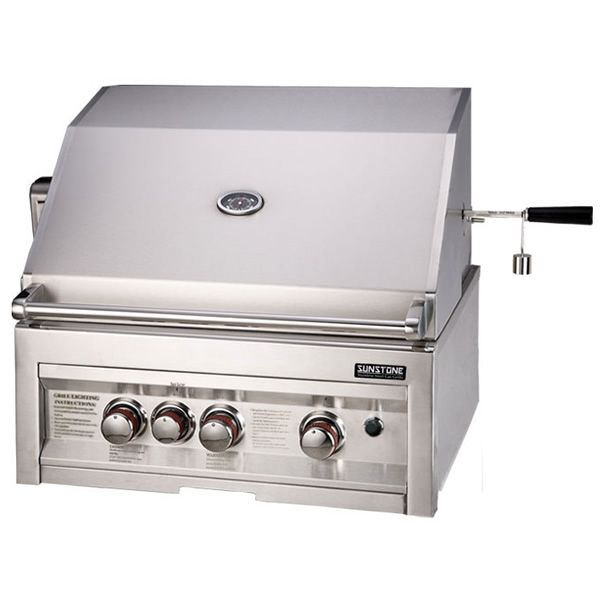 "Sunstone Built-In Gas Grill - 28"" image number 1"