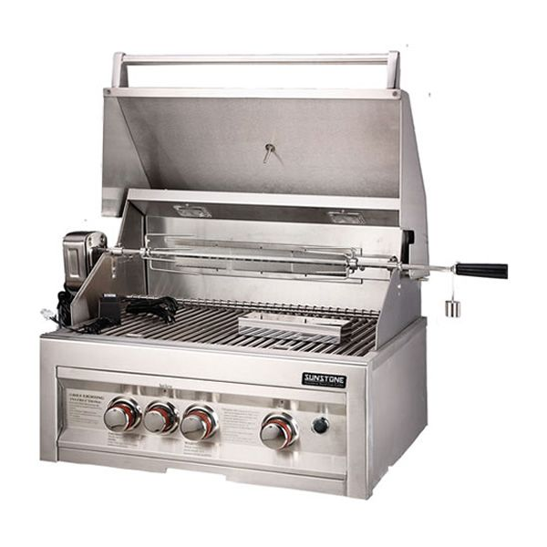 "Sunstone Built-In Gas Grill - 28"" image number 2"