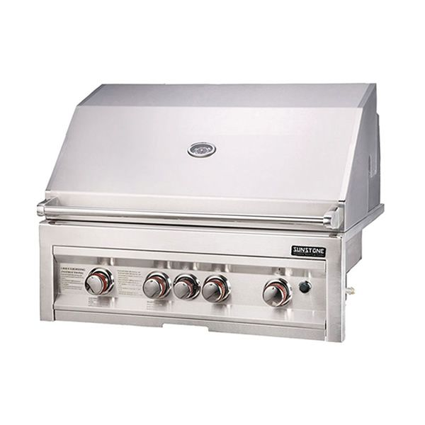 """Sunstone Built-In Gas Grill - 34"""" image number 0"""