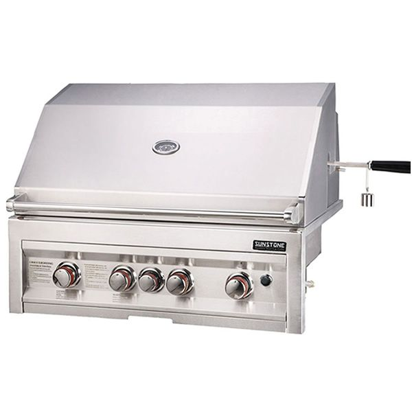 """Sunstone Built-In Gas Grill - 34"""" image number 1"""