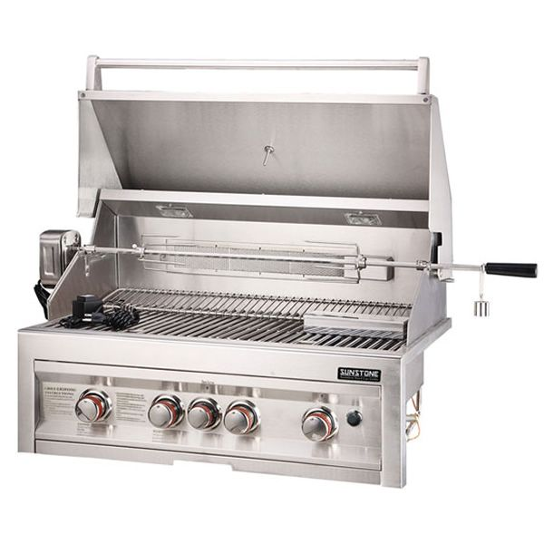 """Sunstone Built-In Gas Grill - 34"""" image number 2"""