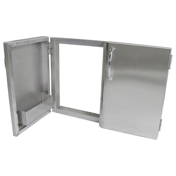 Sunstone Double Access Door with Shelves image number 1