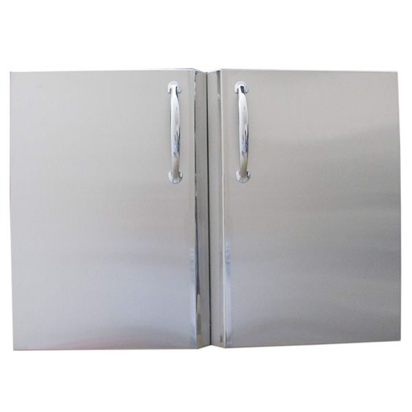 Sunstone Double Access Door with Shelves image number 0