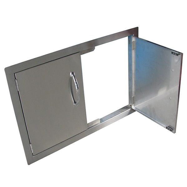 Sunstone Flush Mount Double Door image number 1