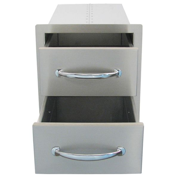 Sunstone Flush Double Access Drawer image number 2
