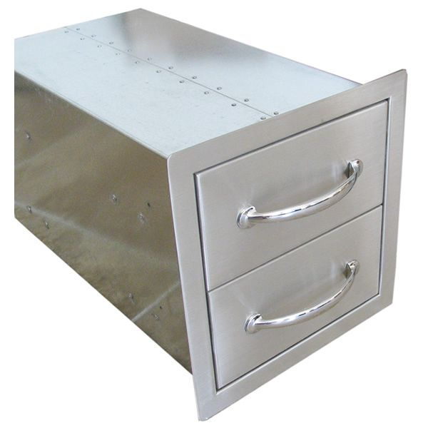 Sunstone Flush Double Access Drawer image number 3