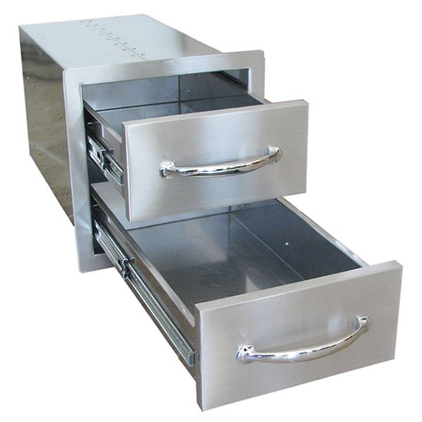 Sunstone Flush Double Access Drawer image number 4