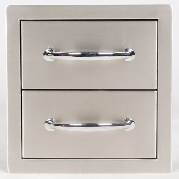 Sunstone Flush Double Access Drawer image number 0