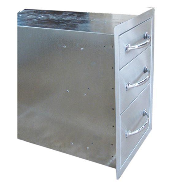 Sunstone Flush Triple Access Drawer image number 3