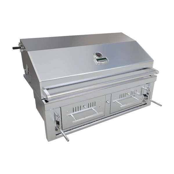 "Sunstone Hybrid Gas and Charcoal Grill - 42"" image number 1"