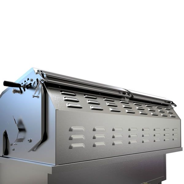 "Sunstone Hybrid Gas and Charcoal Grill - 42"" image number 2"