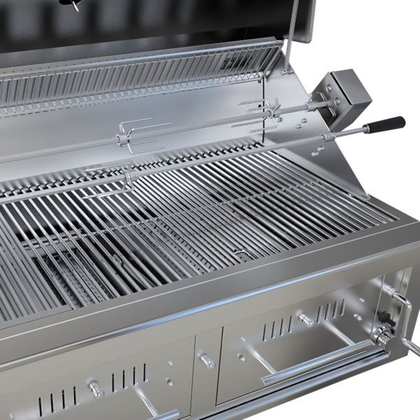 "Sunstone Hybrid Gas and Charcoal Grill - 42"" image number 3"