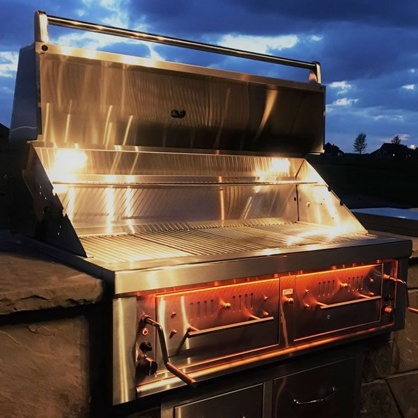 """Sunstone Hybrid Gas and Charcoal Grill - 42"""" image number 4"""