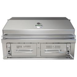 Sunstone Hybrid Gas and Charcoal Grill - 42""
