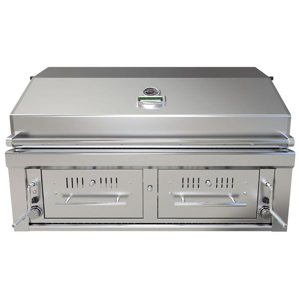 "Sunstone Hybrid Gas and Charcoal Grill - 42"" image number 0"