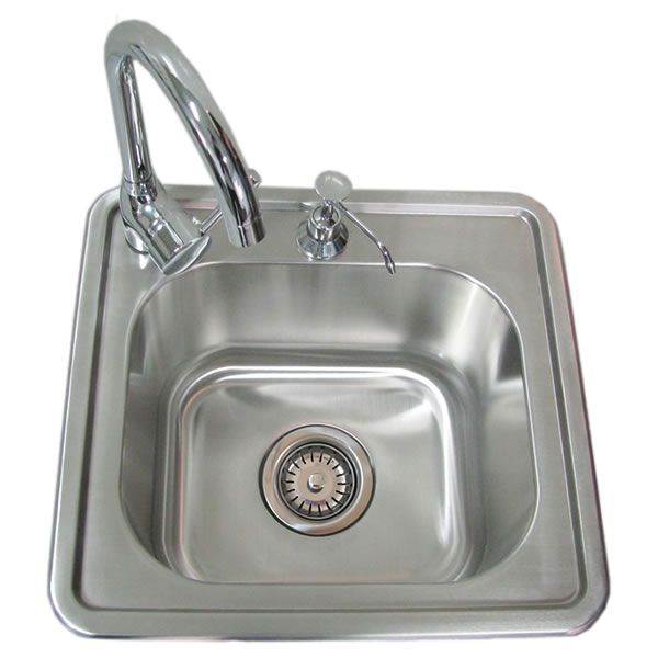 Sunstone Single Sink with Hot & Cold Water image number 0