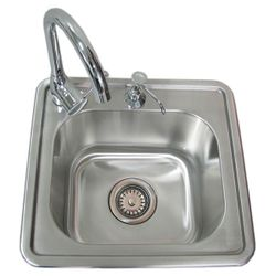 Sunstone Single Sink with Hot & Cold Water