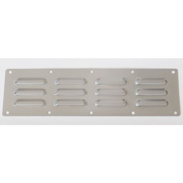 "Sunstone Stainless Steel Venting Panel - 15"" x 4.5"" image number 0"