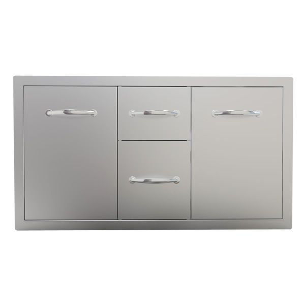 "Sunstone Storage Unit with Drawer and Tank Tray Combo - 42"" image number 0"