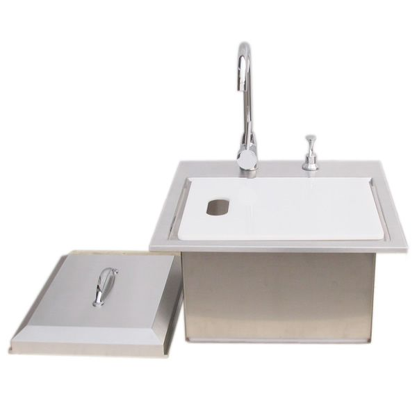 Sunstone Premium Sink with Hot & Cold Water Faucet image number 1