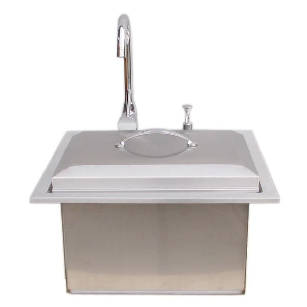 Sunstone Premium Sink with Hot & Cold Water Faucet image number 2