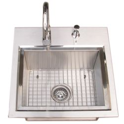 Sunstone Premium Sink with Hot & Cold Water Faucet