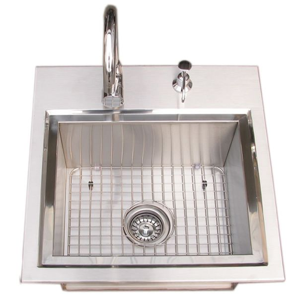 Sunstone Premium Sink with Hot & Cold Water Faucet image number 0