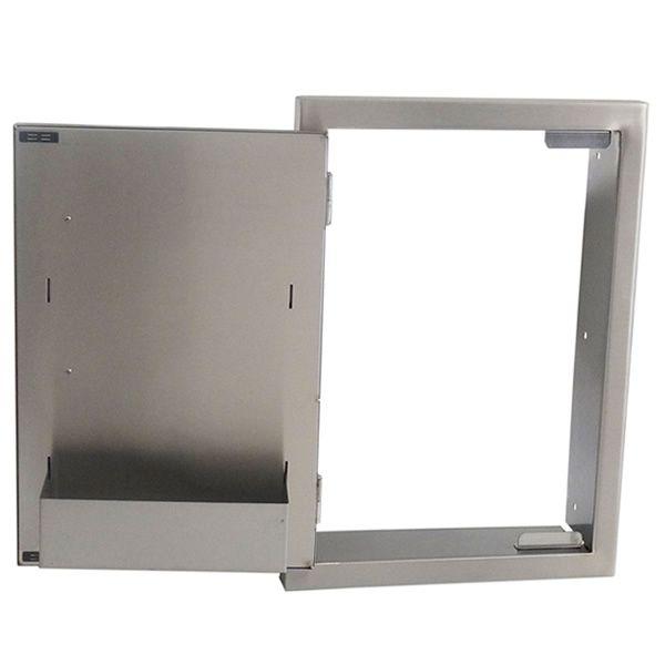 "Sunstone Raised Doors with Shelf for Island - 15"" x 21"" image number 1"