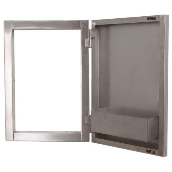 "Sunstone Vertical Door with Shelves - 15"" x 21"" image number 1"
