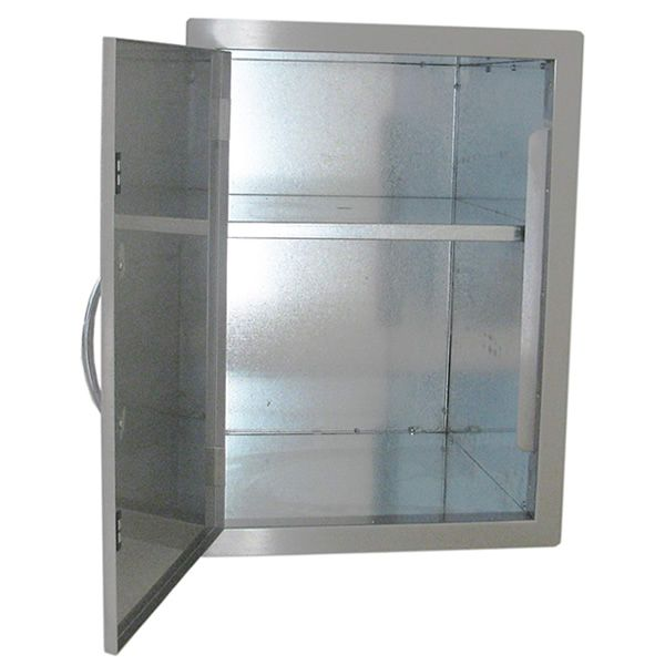 """Sunstone Vertical Dry Storage with Shelf - 24"""" x 17"""" image number 1"""