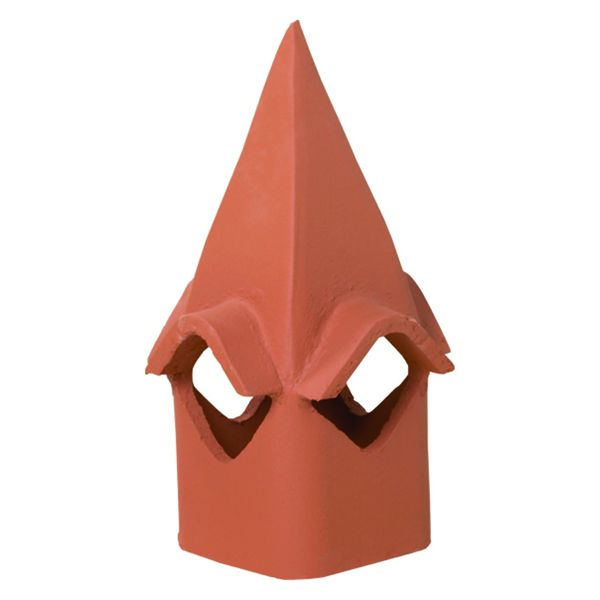 Superior Cathedral Clay Chimney Pot image number 0