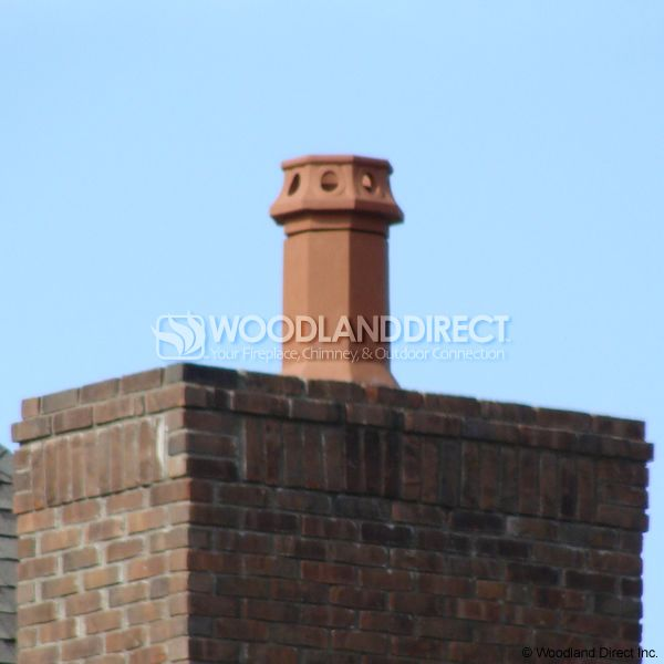 Superior Camelot Clay Chimney Pot image number 2