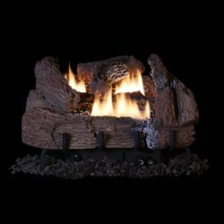 Superior Century Oak Ventless Gas Log Set