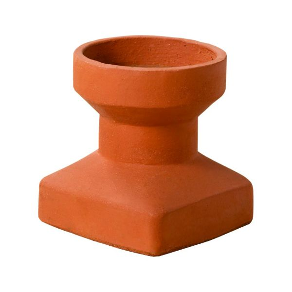 Superior Chimney Base Clay Chimney Pot image number 0